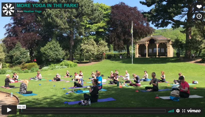 More Yoga in the Park