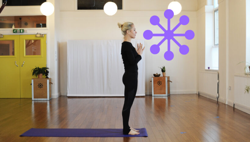 Should you have your feet together or apart in Tadasana/Mountain Pose?